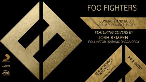Foo Fighters Concrete And Gold Album Pre-Launch Party