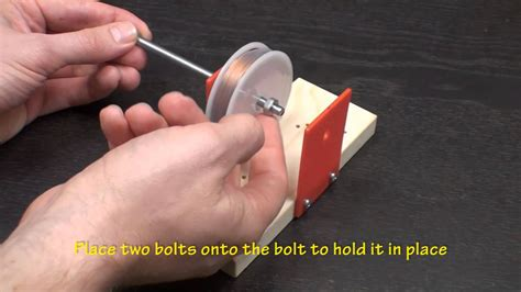 Dowling Magnets - How to Build a Electric Magnet Generator