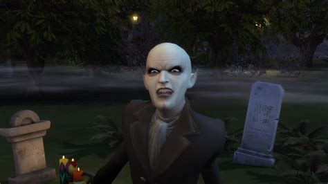 The Sims 4 Vampires: 145 Screens from the Vampire Powers