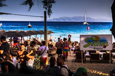 Super Paradise Beach Club - The most famous party beach in