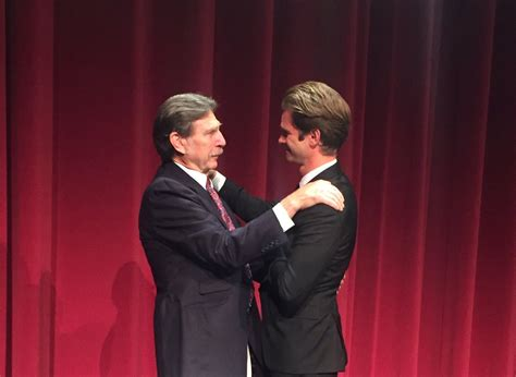 """Borys Kit on Twitter: """"Andrew Garfield shares a moment"""