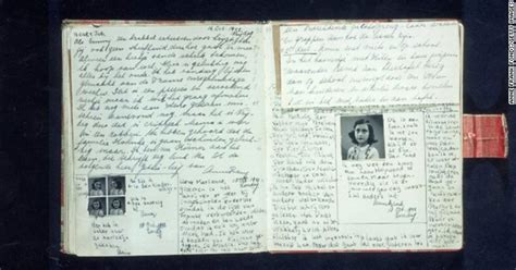 Anne Frank Made Her Last Diary Entry on August 1st, 1944
