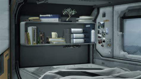 My Sims 4 Blog: TS2 Sci-Fi Bedroom Set Conversion by Mimoto