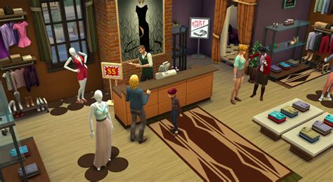 Starting a Retail Business in The Sims 4 Get to Work