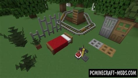 Paper Cut-Out 3D Models Add-on Resource Pack For Minecraft