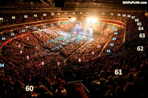 Sydney Allphones Arena - View from Section 60 - Row K