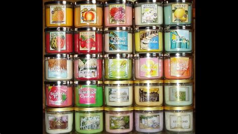 Bath and Body Works White Barn Candle Haul Review- 2013