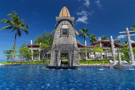 Architecture Exterior With Private Swimming Pool Each Room