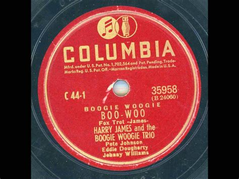 """""""Boo-Woo"""" by Harry James and the Boogie Woogie Trio"""