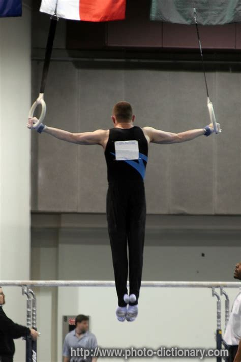gymnastics - photo/picture definition at Photo Dictionary