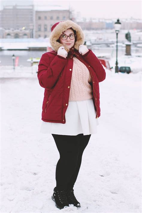 OOTD // Stockholm Snow in 2020 | Plus size winter outfits
