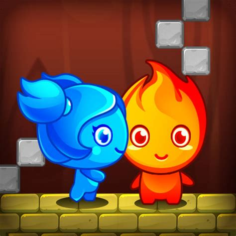 Fire Hero And Water Princess - Crazy Games - Free Online