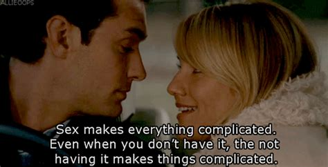 The Holiday (2006) Quote (About sex ons love gifs