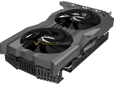 ZOTAC GeForce GTX 1660 Ti AMP and Twin Fan pictured