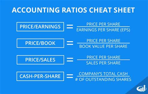 Accounting Ratios for Stock Market Analysis