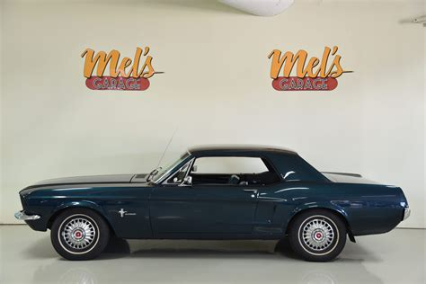 Ford Mustang Coupe 1967-SÅLD! - Mel's Garage - Classic