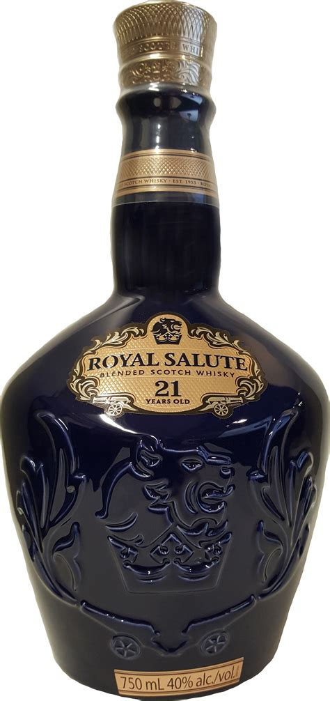 Chivas Regal Royal Salute Blended Scotch Whisky 21 year