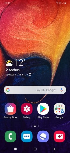 Set up SMS - Samsung Galaxy A10 - Android 9