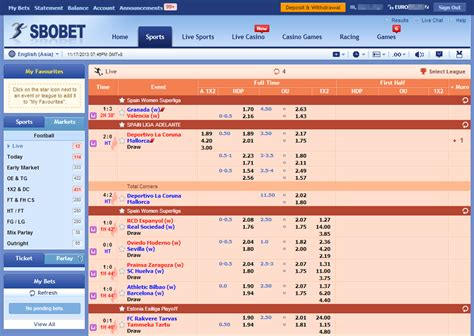 Top bookmakers for inplay sports arbitrage | Surebet Monitor