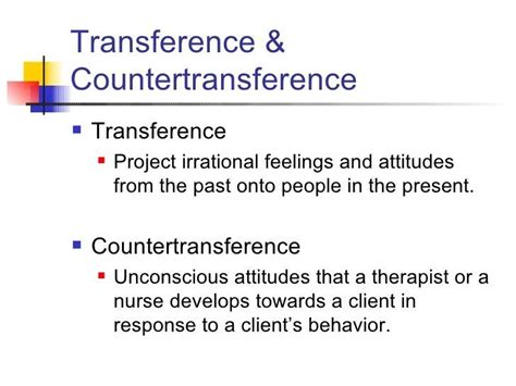 transference vs countertransference - Google Search | Lcsw