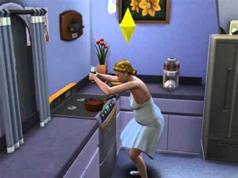 The Sims 4 - Cooking skill lv7 - YouTube