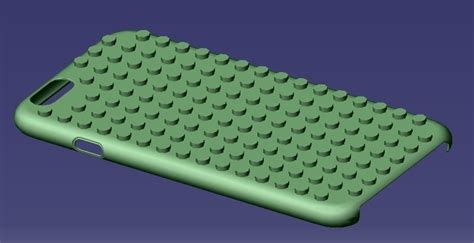 3D Printed iPhone 6S Lego Case by eMBe85   Pinshape