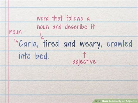 How to Identify an Adjective: 8 Steps - wikiHow