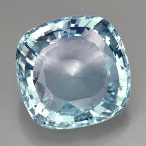 49ct Light Blue Aquamarine Gem from Mozambique Natural and