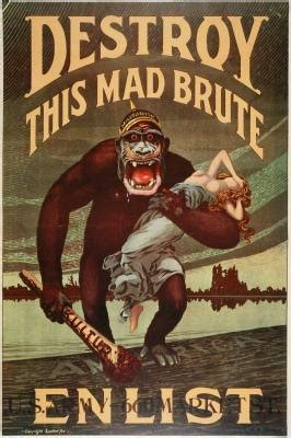 Ideas for WWI Propaganda Poster | eHow