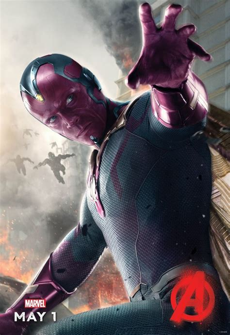 Check Out the Vision Poster for Marvel's Avengers: Age of