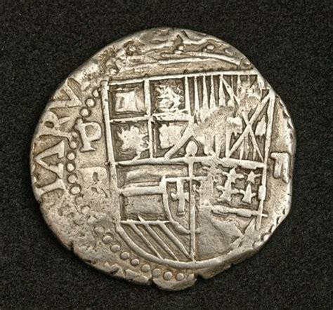 Spanish Colonial Coins Pirate Treasure Cob of 2 Reales