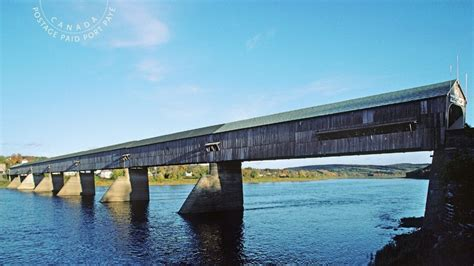 5 stamps honour historic covered bridges from all across
