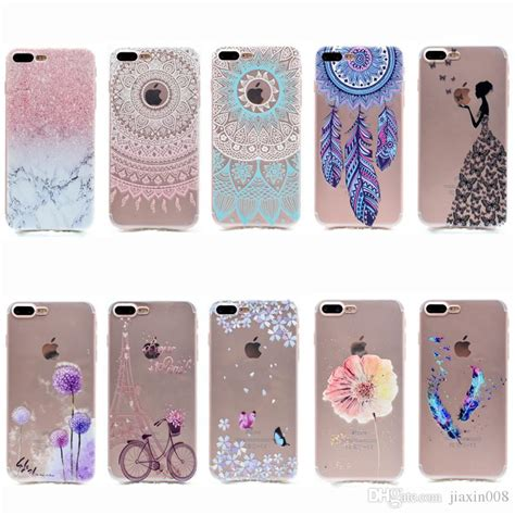 Cool Transparent Tpu Cover For Iphone 7 Plus Case Fashion