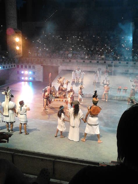 Xcaret at Night Show | Let's Enjoy Mexico