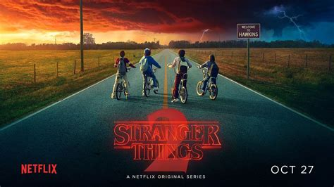 Stranger Things 2 poster takes a darker tone | Creative Bloq