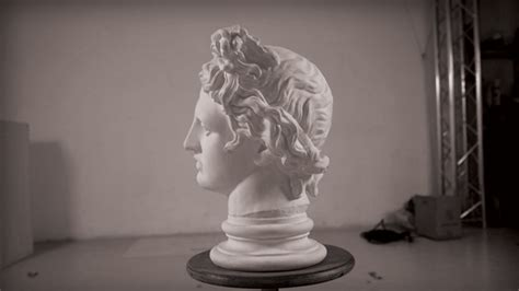 Projection Mapping Revives the Greek God Apollo - Creators