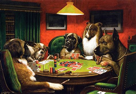 Sharps, Nudes and Dogs: Cards (and Poker) as Inspiration