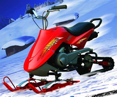 Snow Scooter (302,80CC) Snowmobile , Snow Slide with CE