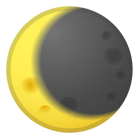 Waning Crescent Moon Emoji Meaning with Pictures: from A to Z