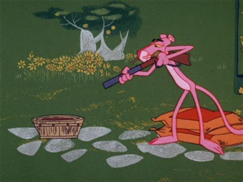 the pink panther gif | Tumblr