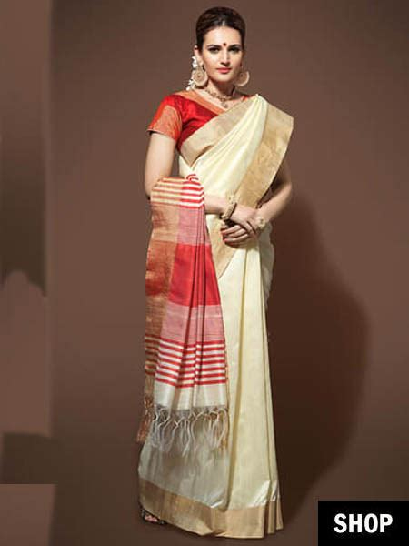 7 Easy Tricks To Look Slim And Tall In A Saree Without