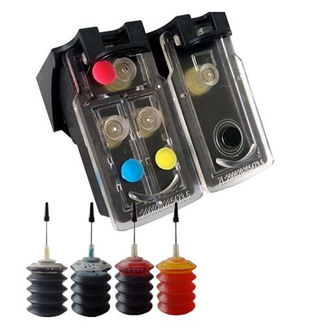 PG210 CL211 Refillable Ink Cartridge for Canon Printer