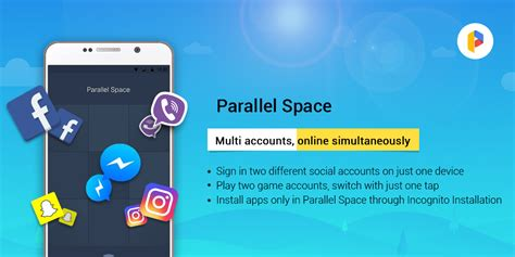 Spotlight: Parallel Space lets you run multiple accounts