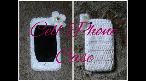 DIY iPHONE CASE Learn How to Crochet Easy Cell Phone