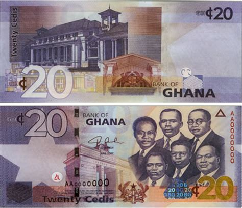 Ghanaian cedi - currency   Flags of countries