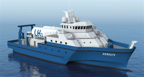 New study focuses on hydrogen fuel cell research vessel