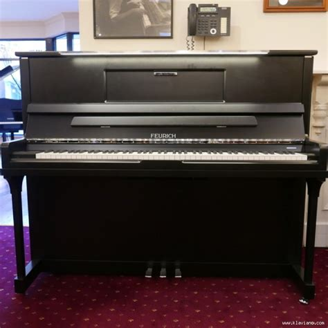 Upright piano Feurich 123 Vienna • Melbourne • New
