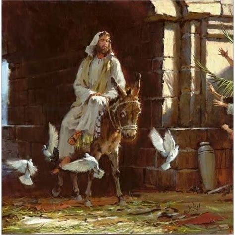 """HOLY WEEK: Palm Sunday - """"On the morrow a great multitude"""