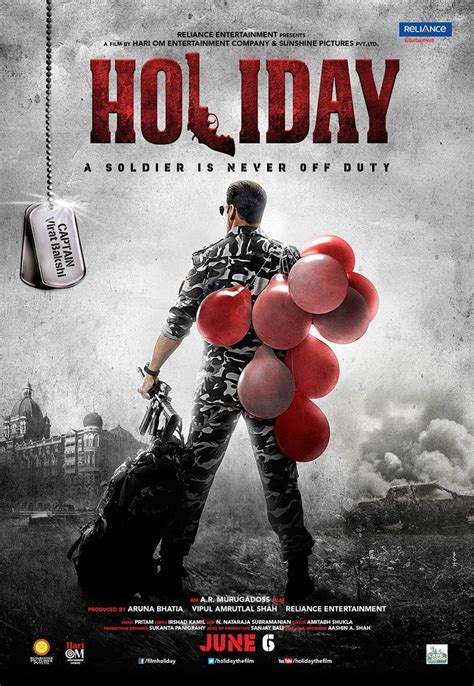 Movie Review: Holiday: A Soldier Is Never Off Duty