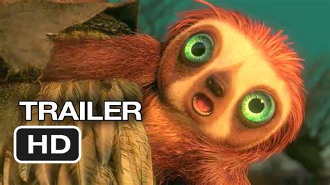 The Croods Official Trailer #2 (2013) - Ryan Reynolds